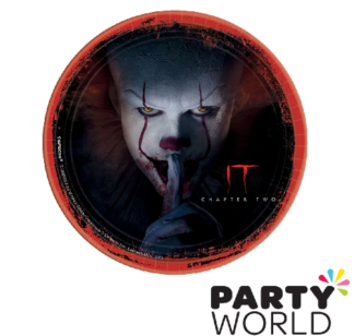pennywise it paper plates