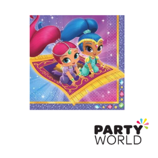 shimmer and shine paper napkins
