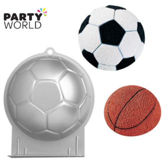 soccer ball cake tin