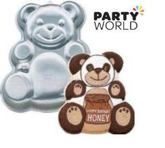 teddy bear cake pan hire