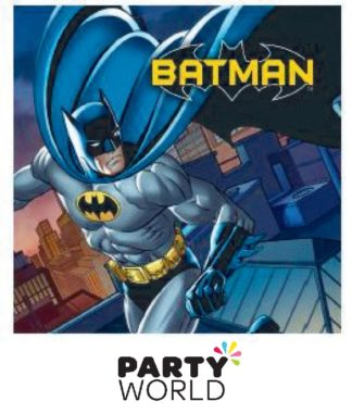 Batman Party Luncheon Napkins (16)