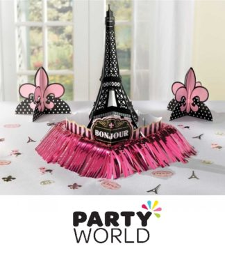 Day In Paris Table Decorating Kit