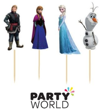 Frozen Party Cupcake Picks (24)
