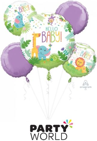 Hello Baby Fisher Price Foil Balloon Bouquet
