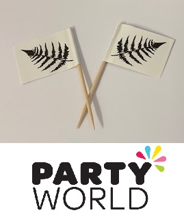 NZ Fern Party Flag Picks (50)