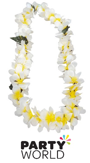 White And Yellow Flower Lei