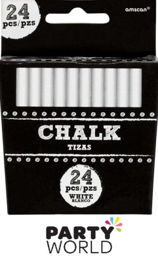 White Chalk Sticks (24)