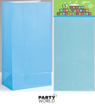 baby blue paper bags