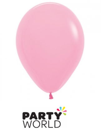 bubblegum pink latex balloons
