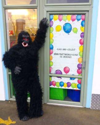 gorilla costume for hire