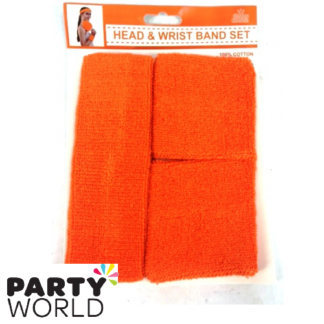 head and wrist band set
