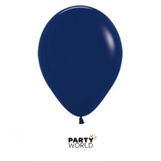 navy blue mini balloons
