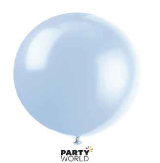powder blue balloon