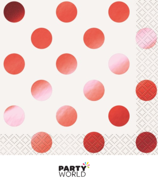 red dot napkins