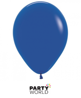 royal blue mini balloons