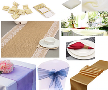 Table Runners & Sashes & Draping Fabric