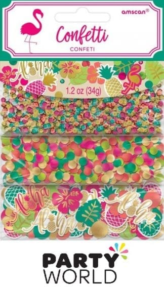 Aloha Value Pack Confetti 1.2oz/34g - Sequins, Foil & Paper