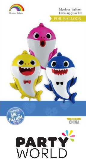 Baby Shark Party Foil Balloons (3)
