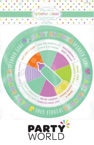 Baby Shower Spinner Game