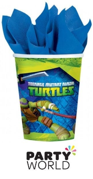 Teenage Mutant Ninja Turtles Party Cups (8)