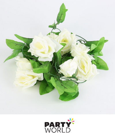 artificial rose garland