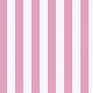 Baby Pink Dots, Stripes & Chevron