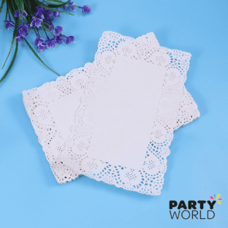 rectangular doilies