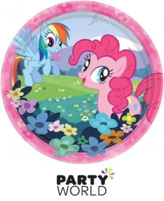My Little Pony Friendship 17cm Round Plates (8)