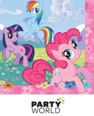 My Little Pony Friendship Lunch Napkins (16)