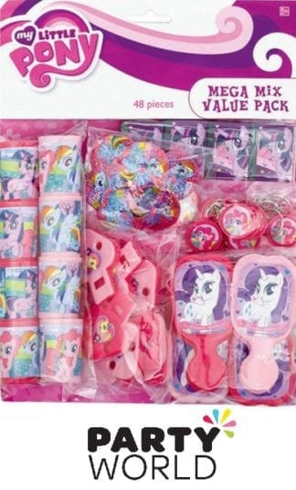 My Little Pony Friendship Mega Mix Value Pack Favours