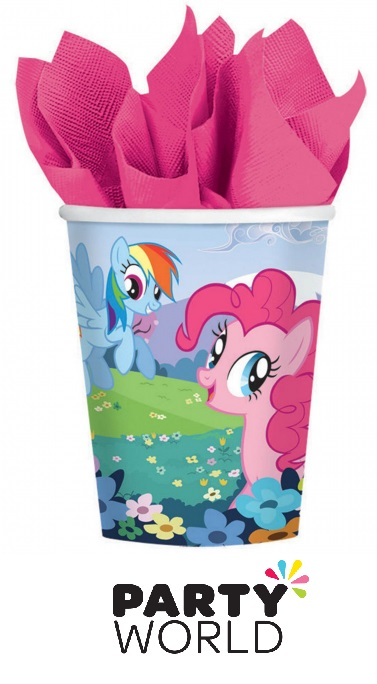 My Little Pony Friendship Paper Party Cups (8)