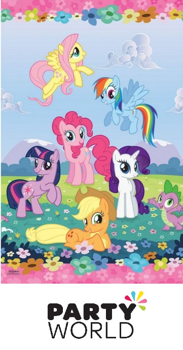 My Little Pony Friendship Tablecover Plastic