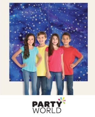 Space Galaxy Photo Backdrop Scene Setter