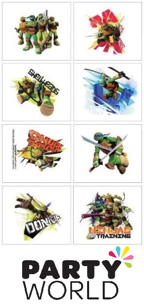 Teenage Mutant Ninja Turtles Tattoo Favours (8)
