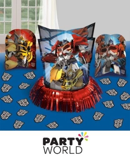 Transformers Core Table Decorating Kit