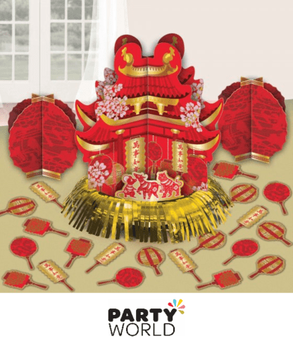 chinese new year table decorating kit