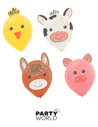 farm themed balloons