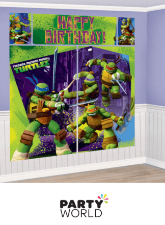mutant turtles wall decorations