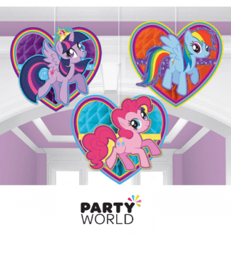 my little pony honeycomb decorations