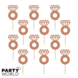rose gold ring picks