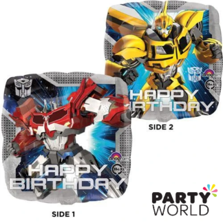 transformers foil balloons