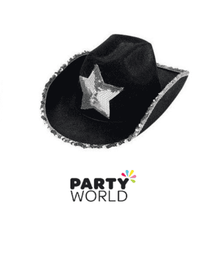 western hat with silver star