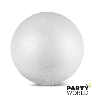 white polysterene foam ball