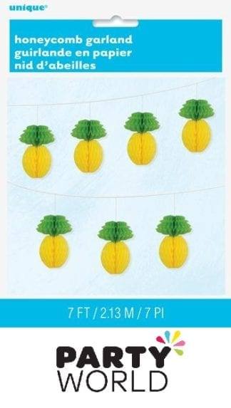 Pineapple Honeycomb Garlands 2.13m