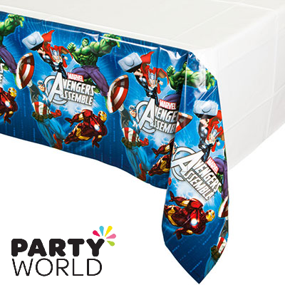 avengers party tablecover