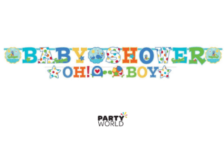 baby shower oh boy banner