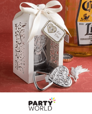 heart bottle opener wedding gift
