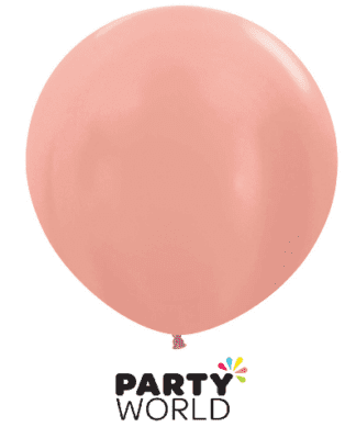 rose gold latex balloon 24 inch