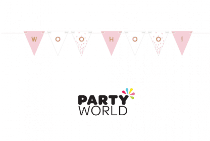 rose gold pink customizable banner