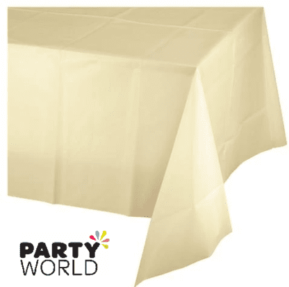 ivory tablecover